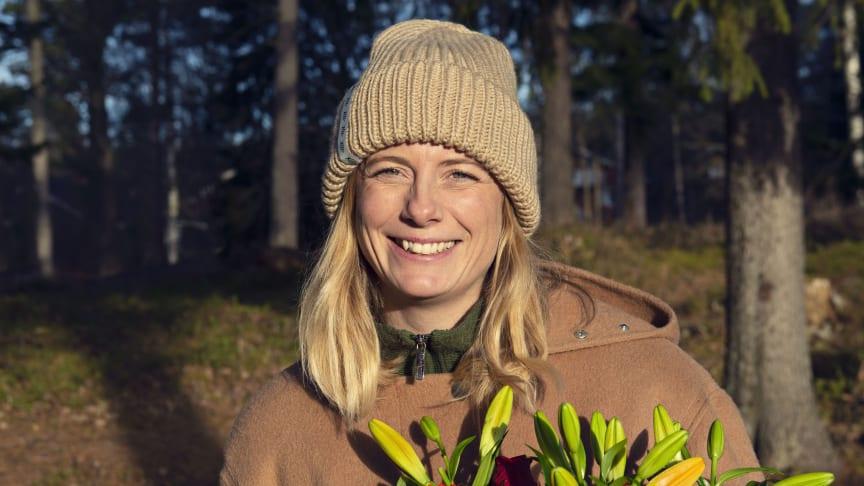 Kristina Henriksson, ST-läkare i Östersund, tilldelas Sjukhusläkarnas stipendium Hållbart arbetsliv