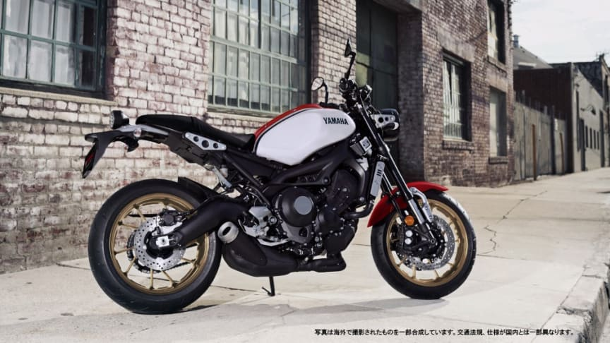 「XSR900 ABS」ホワイト