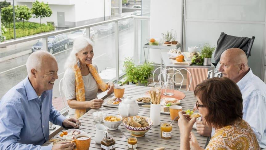 Riksbyggen Bonum-koncept vänder sig till hushåll där minst en person fyllt 55 år.