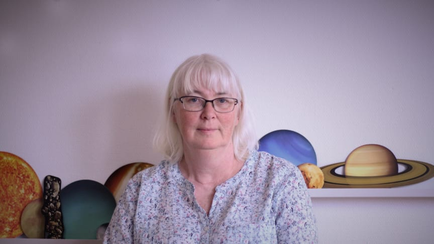 Förskollärare Lise-Lott Fjell från Uddevalla är med i Rymdstyrelsens skolråd.