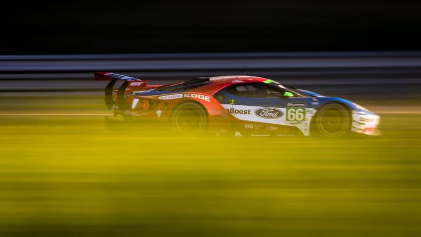 Fire Ford GT-biler er klar til det hårdeste 24 timers Le Mans.