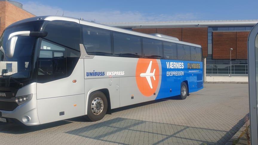 Værnessekspressen innfører ekstra tiltak for å trygge sine reisende