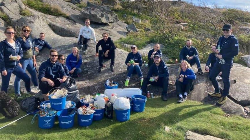 Göteborg: I sommar plockar vi tillsammans upp plast ur havet