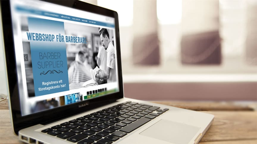 Nu blir det enklare för barberare att handla produkter. Barber Supplier Nordic AB startar webbshop.