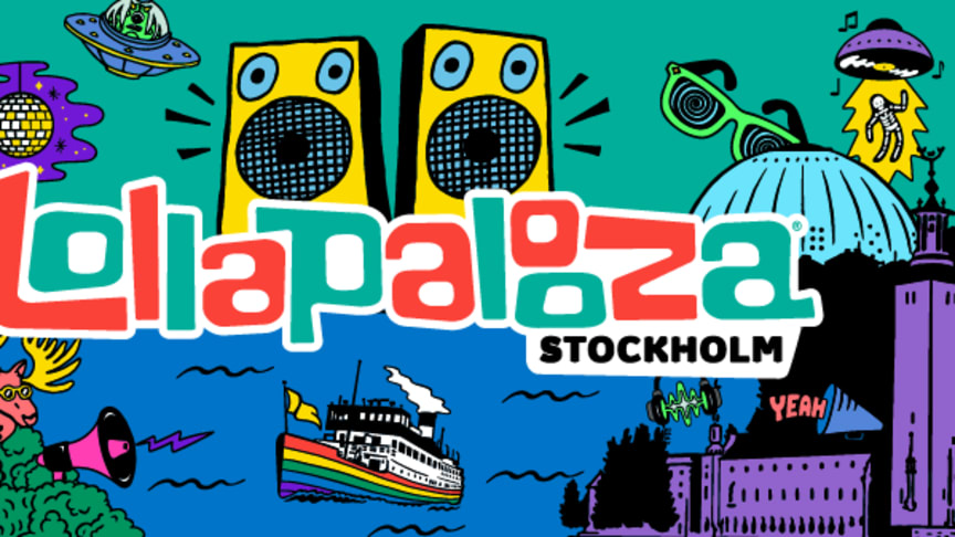 Lollapalooza Stockholm will take place at the beautiful park Gärdet, June 28-29, in the very heart of Stockholm.