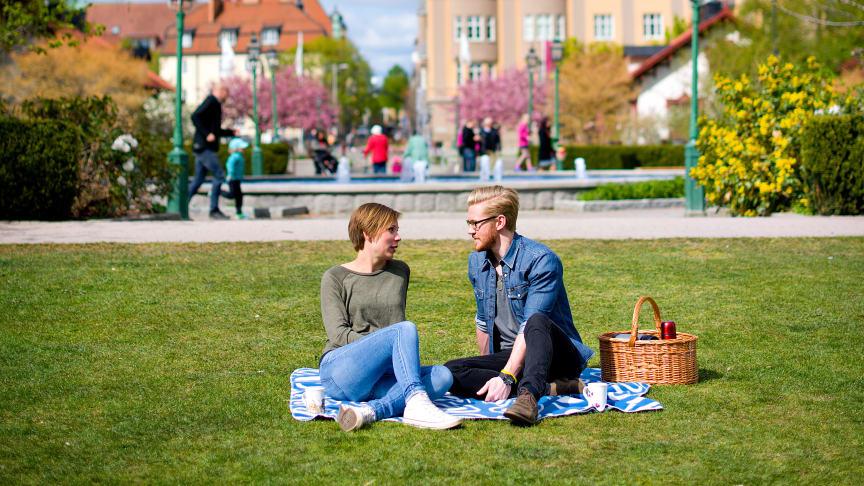 Linköping är en av platserna som slog besöksrekord i somras