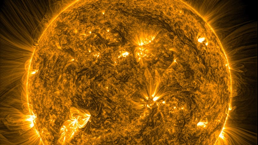The Sun's corona - its outermost layer of atmosphere