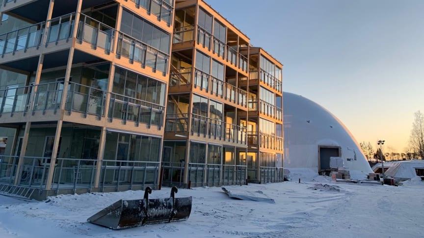 57 bostadsrätter på Karlagården i Skellefteå
