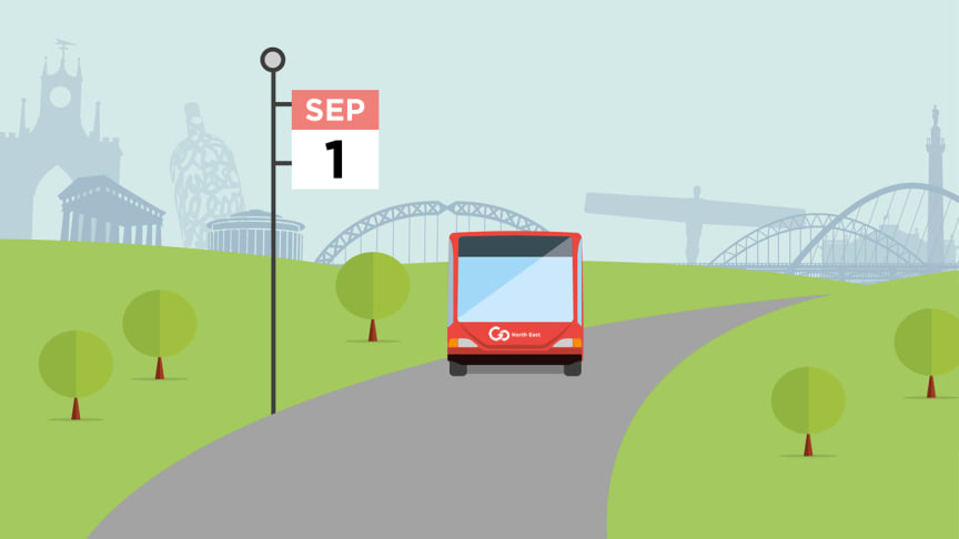 Service changes from 1 September 2019