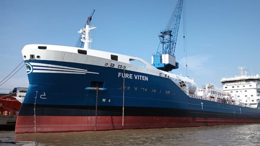 New vessel brings Furetank to the UN 2050 climate goal – today