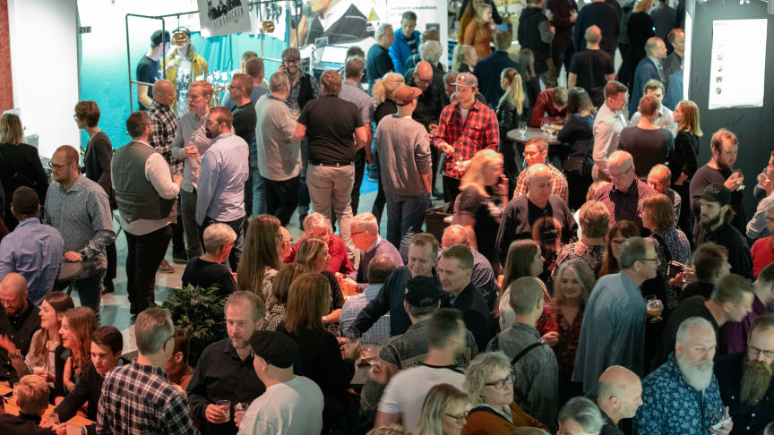 Det kom 4693 besökare till årets Nolia Beer i Umeå.