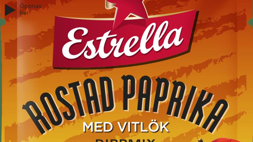 Estrella Dippmix Rostad Paprika med Vitlök 2020