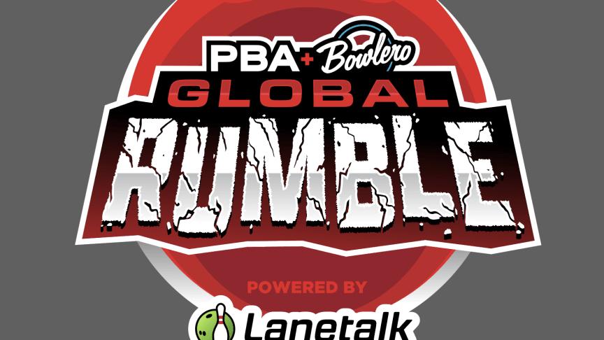 PBA Bowlero Global Rumble powered by Lanetalk - logo