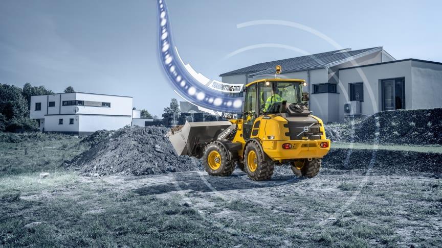 CareTrack ingår nu som standard för utvalda kompaktmaskiner från Volvo