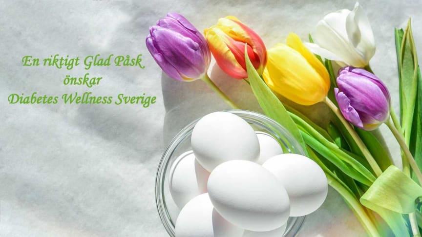 En riktigt Glad Påsk önskar Diabetes Wellness Sverige
