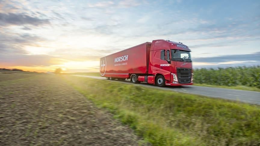 Horsch Showtruck på väg genom Europa. Vecka 37 i Sverige i Sverige med stopp i Skara och Kumla.