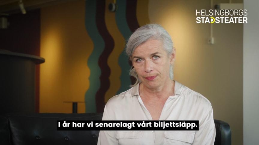 Teaterchef Kajsa Giertz presenterar spelåret 20/21