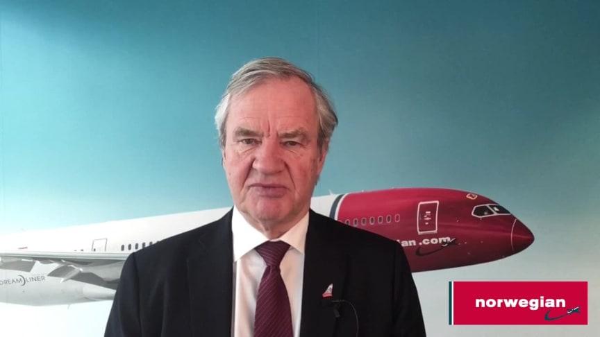 CEO Bjørn Kjos Addresses Current 737 MAX 8 Situation