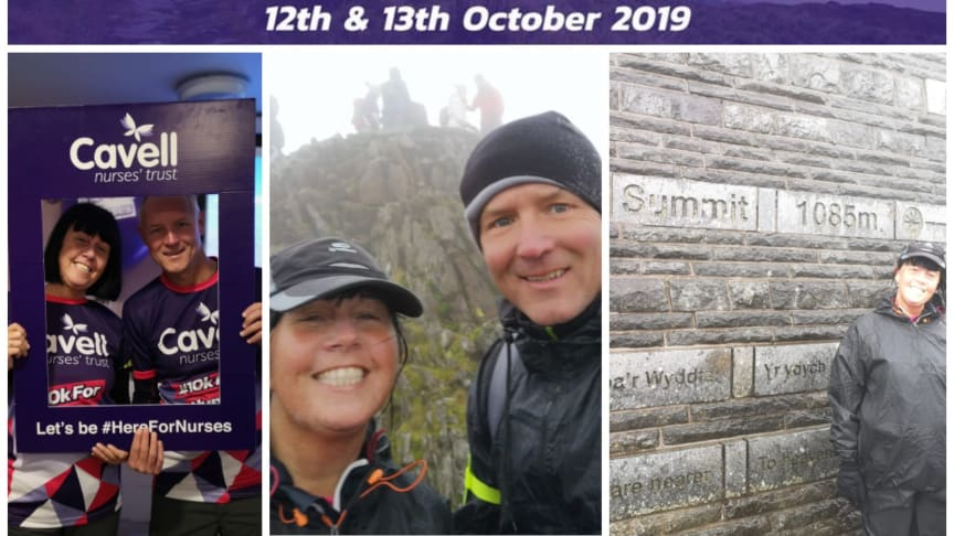 Finegreen conquer Snowdon in support of Cavell Nurses' Trust