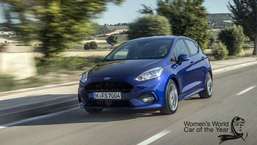 MEST VALUTA FOR PENGENE: Ingen andre biler kan by på like mye valuta for pengene som nye Ford Fiesta, mener et internasjonalt panel av kvinnelige bileksperter.