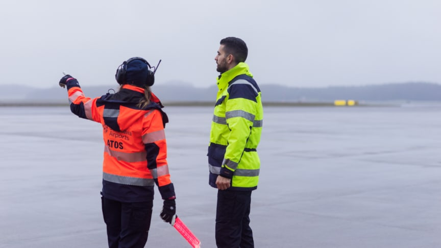 Swedavia äger, driver och utvecklar tio flygplatser i Sverige. Foto: Swedavia.
