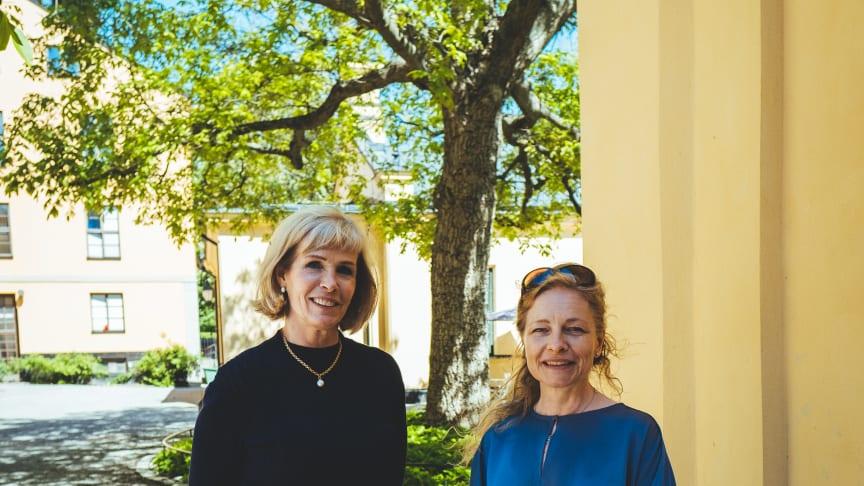 Fv Anna-Jeanette Larnelius och Mia Björckebaum