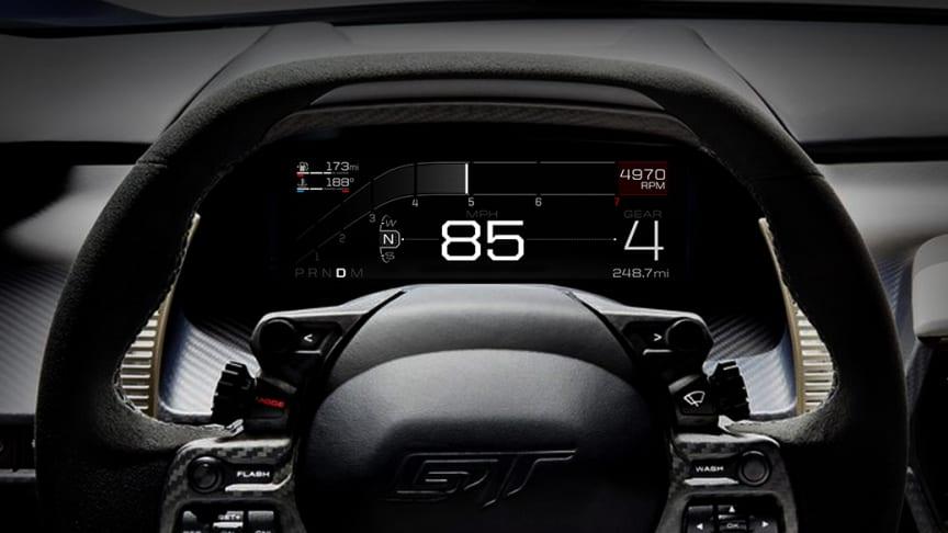 Kun det bedste er godt nok til en Ford GT