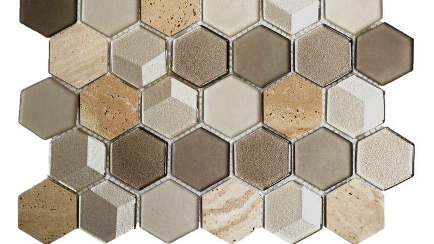 Mosaik Eventyr Den Lille Pige Med Svovlstikkerne Kobber 30x30,  1.648 kr. M2.
