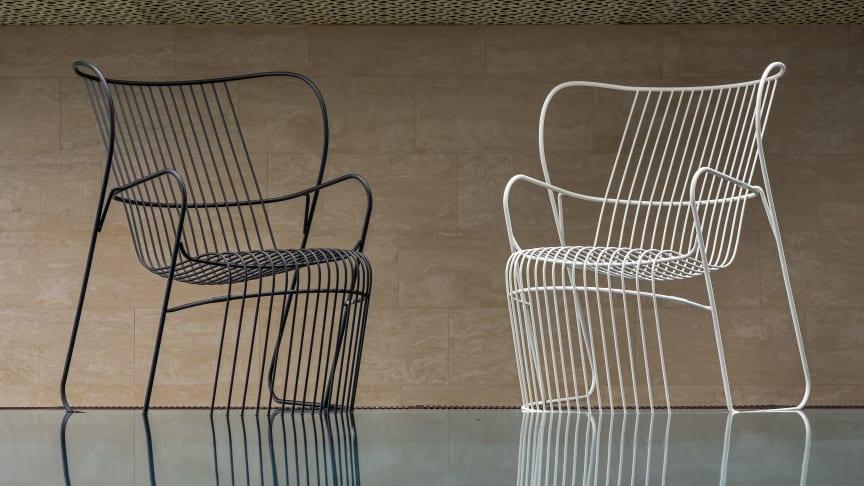 Kaskad armchairs, design Björn Dahlström.