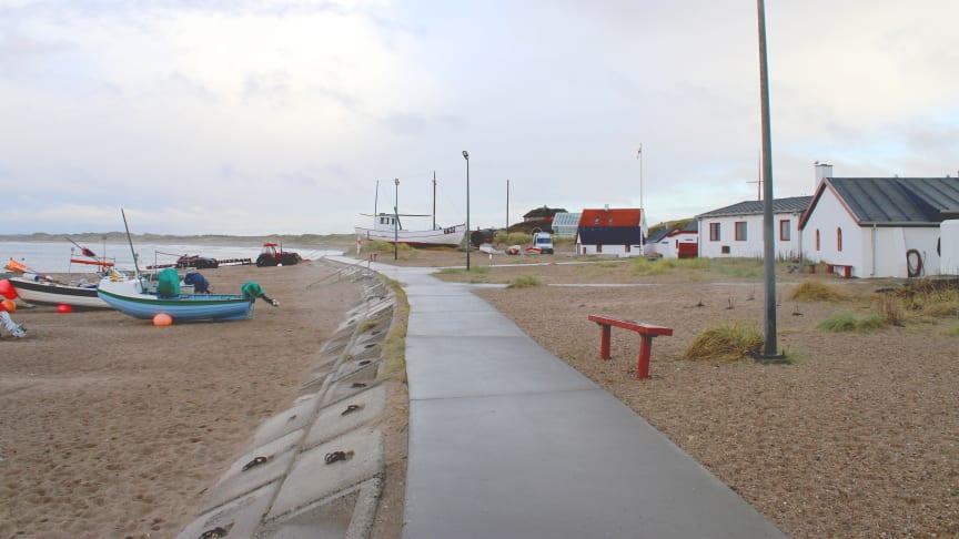 Stranden i Klitmøller er ét af de steder Arkitema og COWI skal arbejde med.