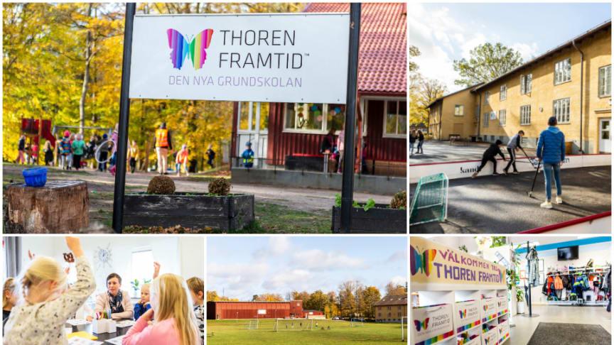 Thoren Framtid Hässleholm utökar sin verksamhet igen. Nu ska lokalerna byggas om för att ta emot fler elever till hösten.