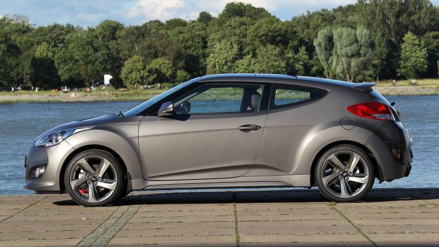 Hyundai Veloster fester grepet