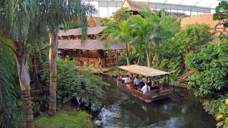 Ein wichtiger Toursimusmagnet: Zoo Leipzig und die Tropenerlebniswelt Gondwanaland
