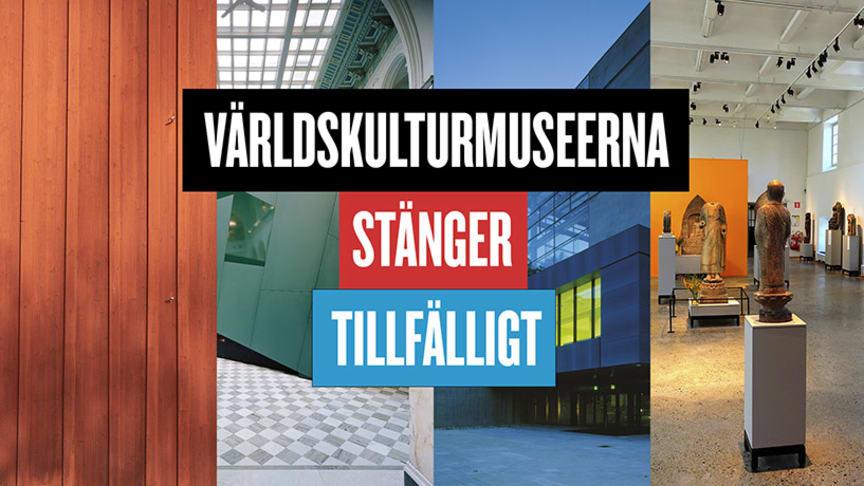 Världskulturmuseerna stänger tillfälligt