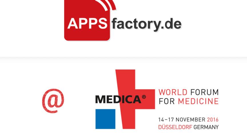 Medica 2016: APPSfactory präsentiert Mobile Health Referenzen und Virtual Reality Showcases
