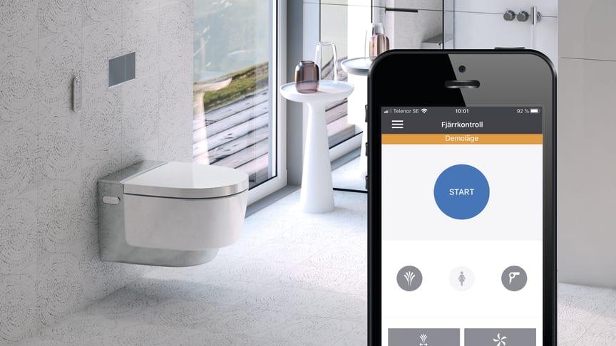 Framtidens badrum går i teknikens tecken - Geberit listar 5 badrumstrender