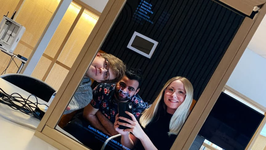 Intelligent spegel byggs i Videum Science Park