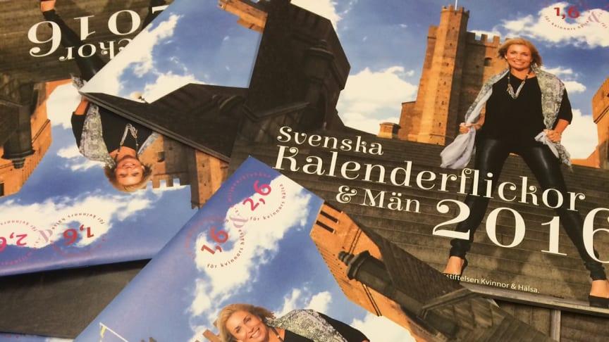 Signering av Svenska Kalenderflickor  & Män