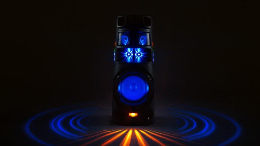 Mærk lydens magt med Sonys High Power-lydsystem