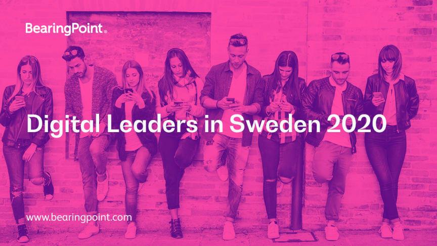 Ny studie: Digital Leaders in Sweden 2020