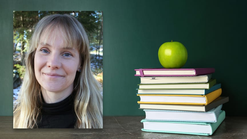 """Karin Herlitz har skrivit """"Skönlitteratur i undervisningen – mod och metod för arbete med läsning i klassrummet"""""""