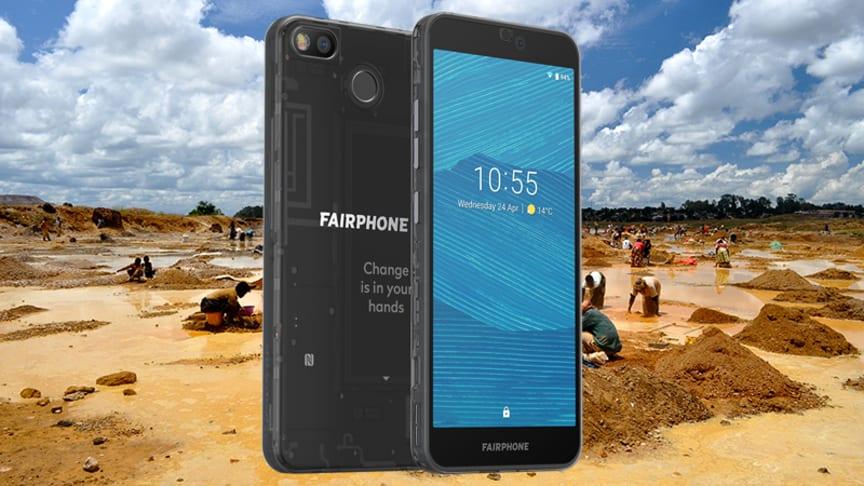 Fairphone arbetar för en hållbar leveranskedja inom mobiltelefoni.