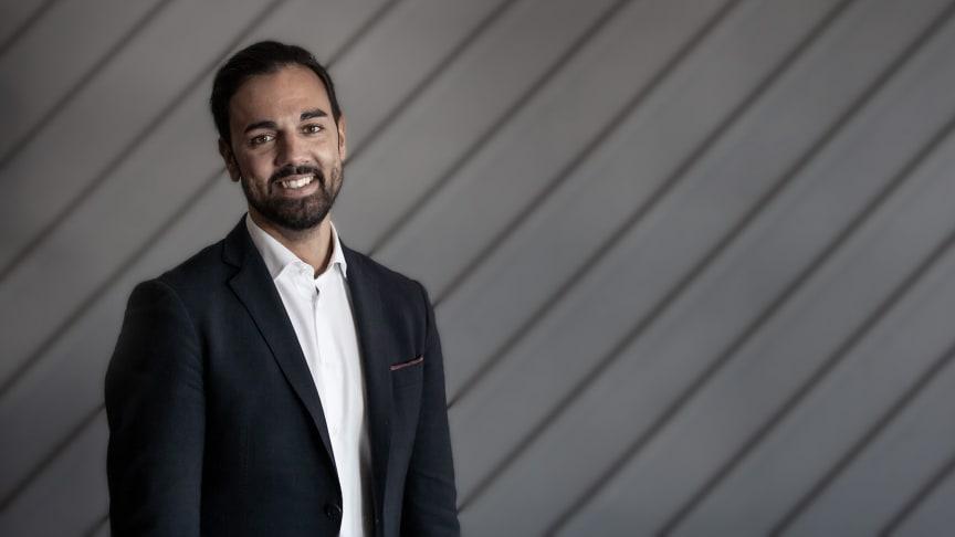 Daniel Hermansson, chef affärsområdet Produktionsteknik