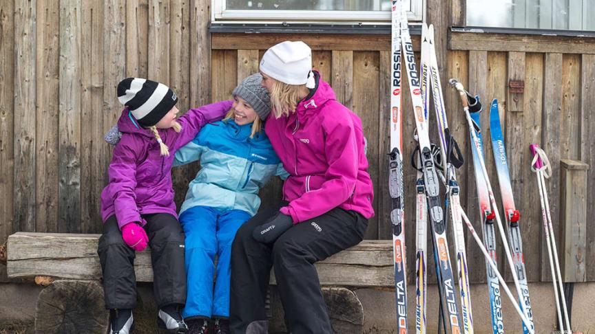 25-26 jan 2020 blir det premiär för Family Ski Weekend på Billingen Skövde. Foto: Tuana/Next Skövde