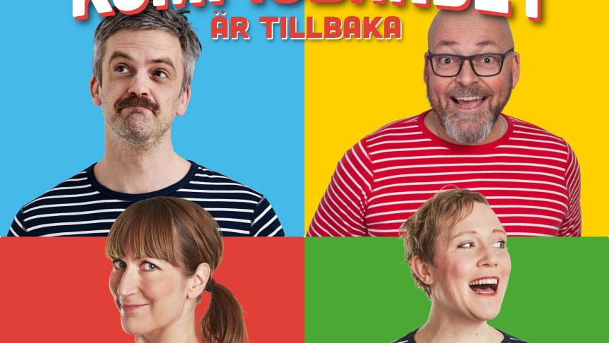 'Kompisbandet är tillbaka - Barnmusik för stora och små' - Nytt album ute 2 april