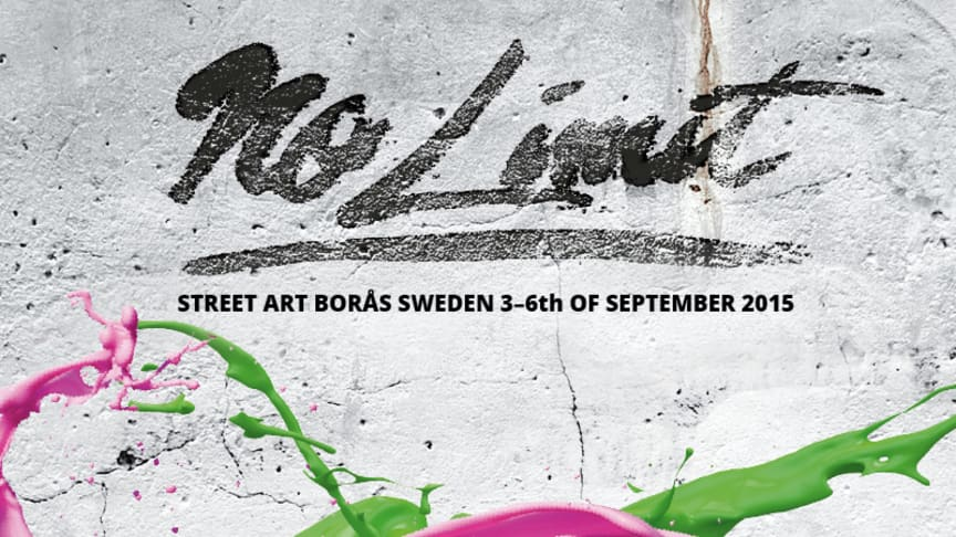 ​It all begins now! – No Limit Street Art Borås