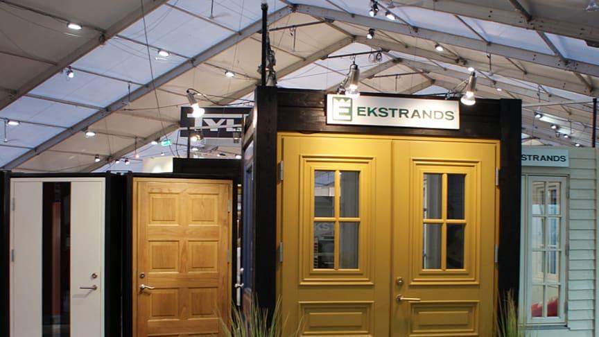 Ekstrands på Hem & Villamässan i Stockholm