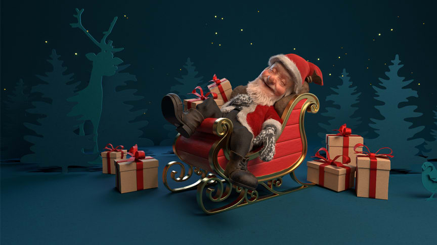 Guess what Santa is dreaming about and win daily offers