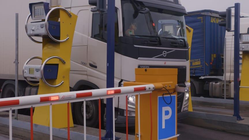 I et prosjektsamarbeid med Hogia har Trelleborg havn innført en helautomatisk løsning for sin eksisterende gate-in-prosess