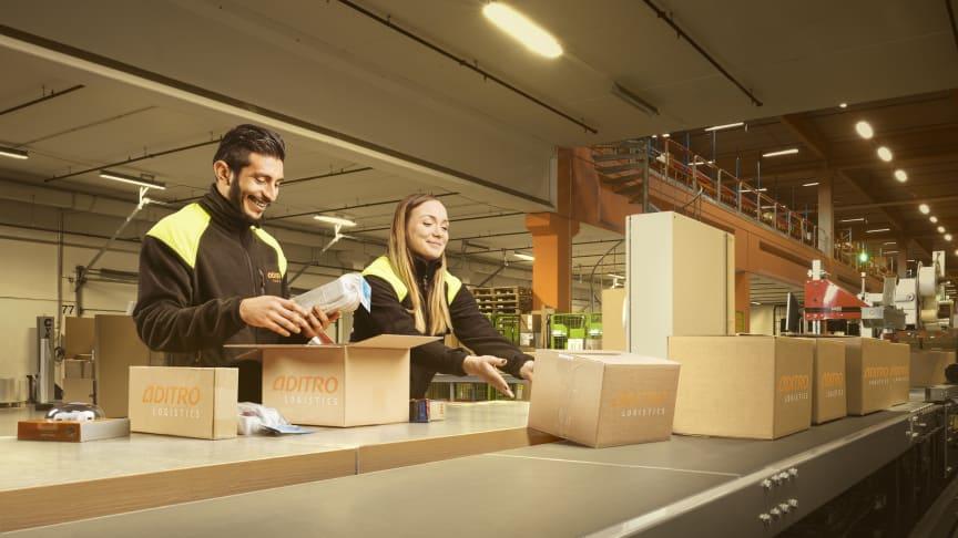 Cervera flyttar sitt centrallager till Aditro Logistics e-handelscenter i Arlandastad.
